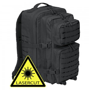 Рюкзак Brandit US Cooper Lasercut large Black