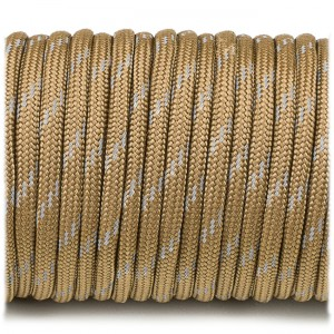 Paracord reflective, coyote #r3012