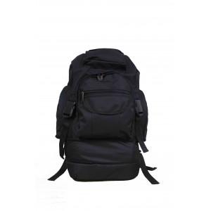 Туристический рюкзак трансформер 48-60л, черный