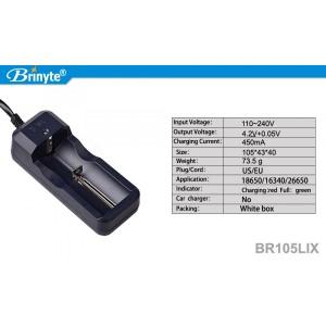 зарядное устройство для аккумуляторов Brinyte BR105LIX