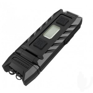 Фонарь многофункциональный Nitecore THUMB (2xLED + 2хRED LED, 85 люмен, 6 режимов, USB), клипса