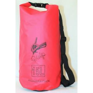 Водонепроницаемая сумка QUIP Red 15L