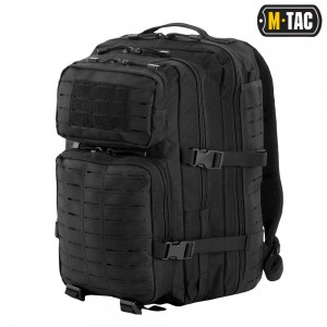 M-TAC РЮКЗАК ASSAULT PACK LASER CUT BLACK 36L