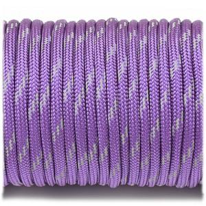 Paracord 550 reflective X3 purple #r3026 (светоотражающий)