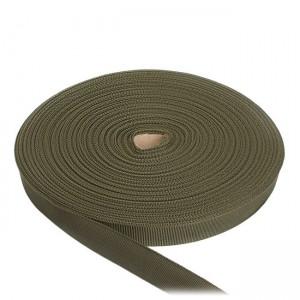 Лента окантовочная, 24 мм, олива полиамидная
