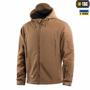 M-Tac куртка флисовая Windblock Division Gen.II Coyote