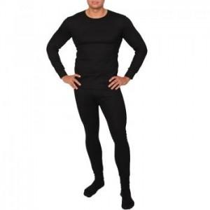 Комплект термобелья мужской (термофутболка + термоштаны) Ranger Superior, черный